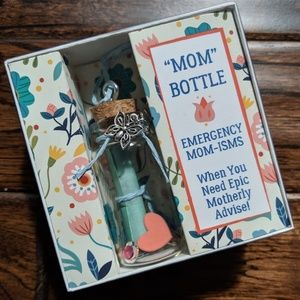 Message In A Bottle Gift Box With Scroll & Charm